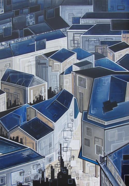 ''Toi, toi, mon toit'' N°5112 _65x92