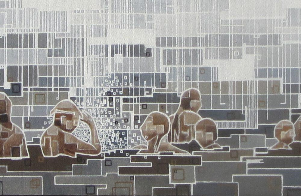 ''Baignade'' N°7414 (20x100)
