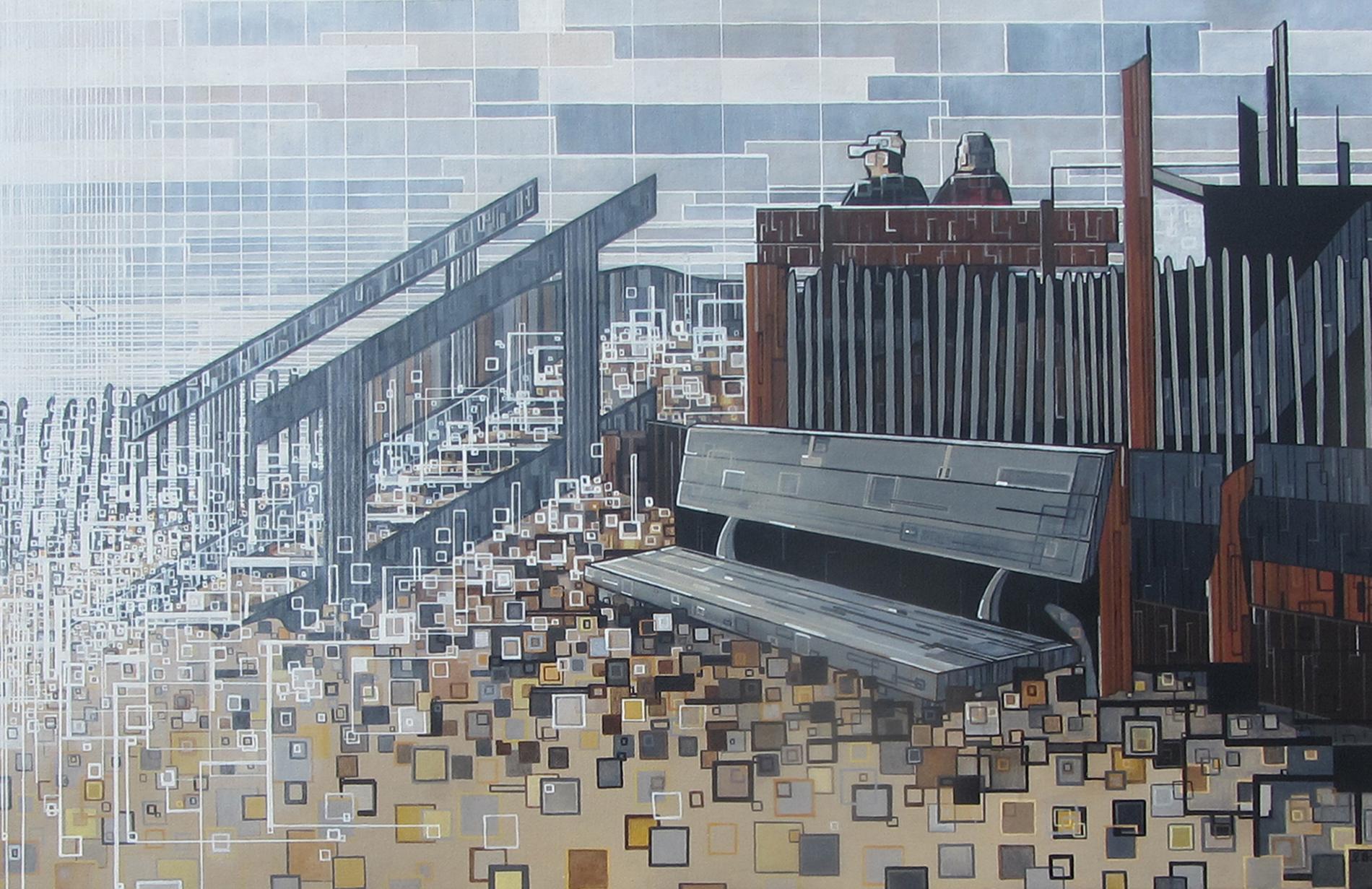 ''La pause'' N°6513 (92x60)