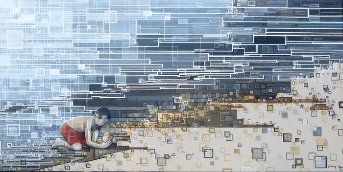 ''L'enfant'' N°7314 (80x40)