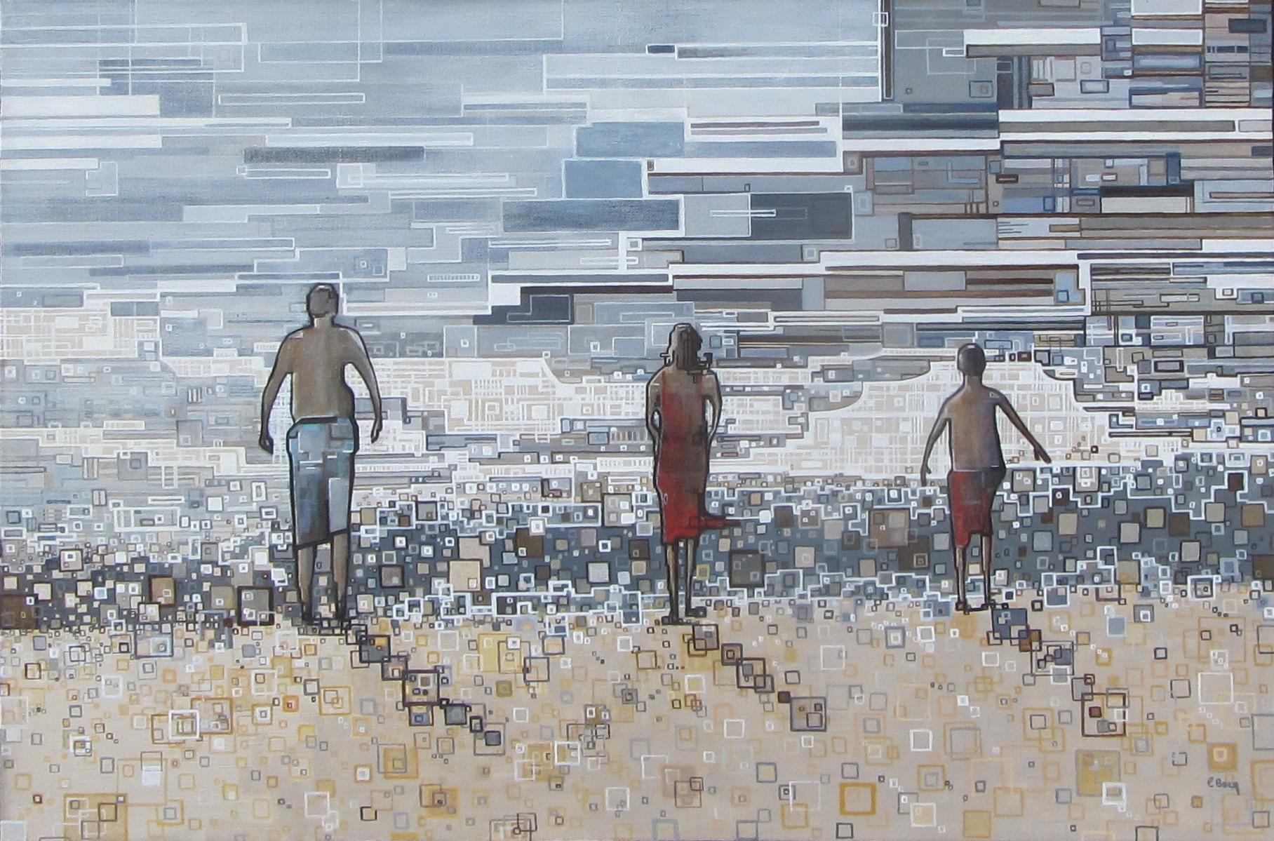 ''Un été'' N°7113 (81x54)