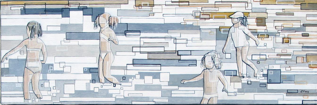 """""""Jeux d'enfants"""" N°10517 (60x20)"""